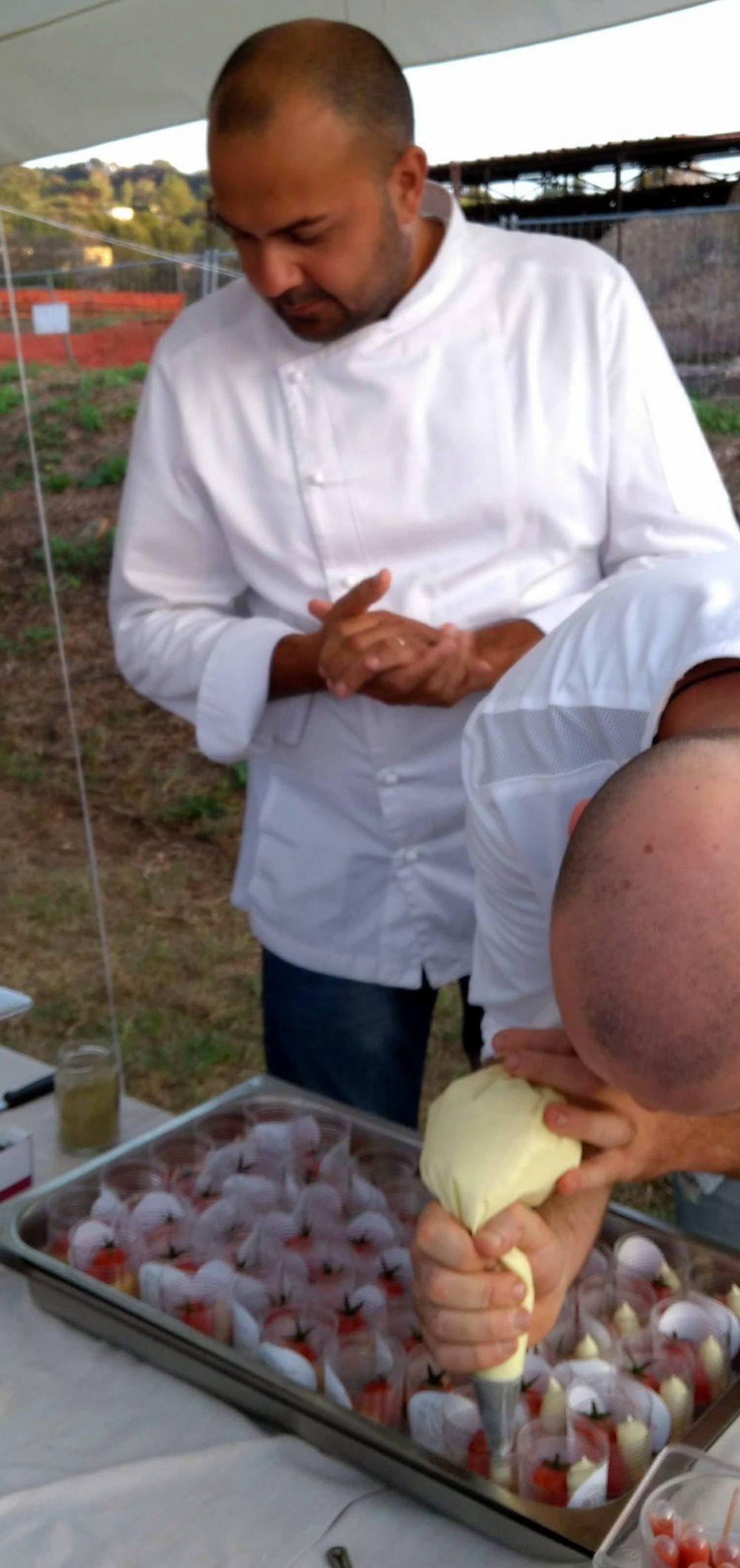 Angelo Carannante del ristorante Caracol, Miseno Bacoli