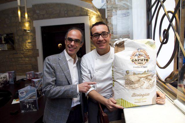 Antimo Caputo e Gino Sorbillo