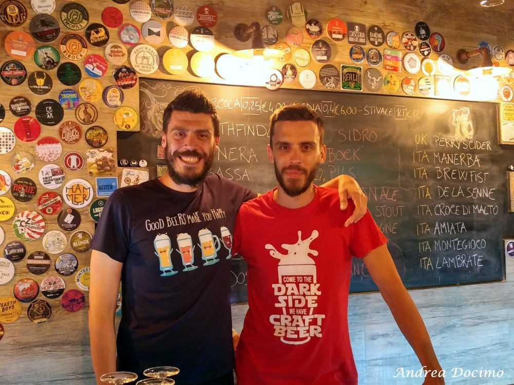 Beer Hunters ad Agropoli. Carmine e Silvio Carnicelli