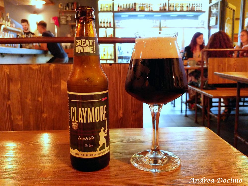Beer Hunters ad Agropoli. La Claymore di Great Divide