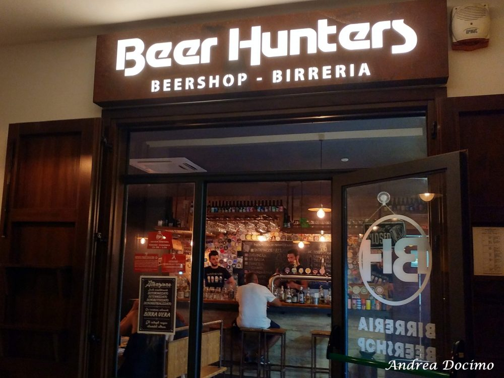 Beer Hunters ad Agropoli. L'entrata
