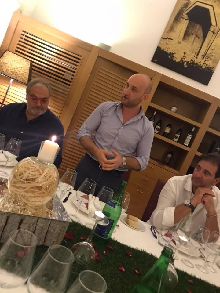 Ciro Giordano con Nicola Matarazzo e Maurizio Russo