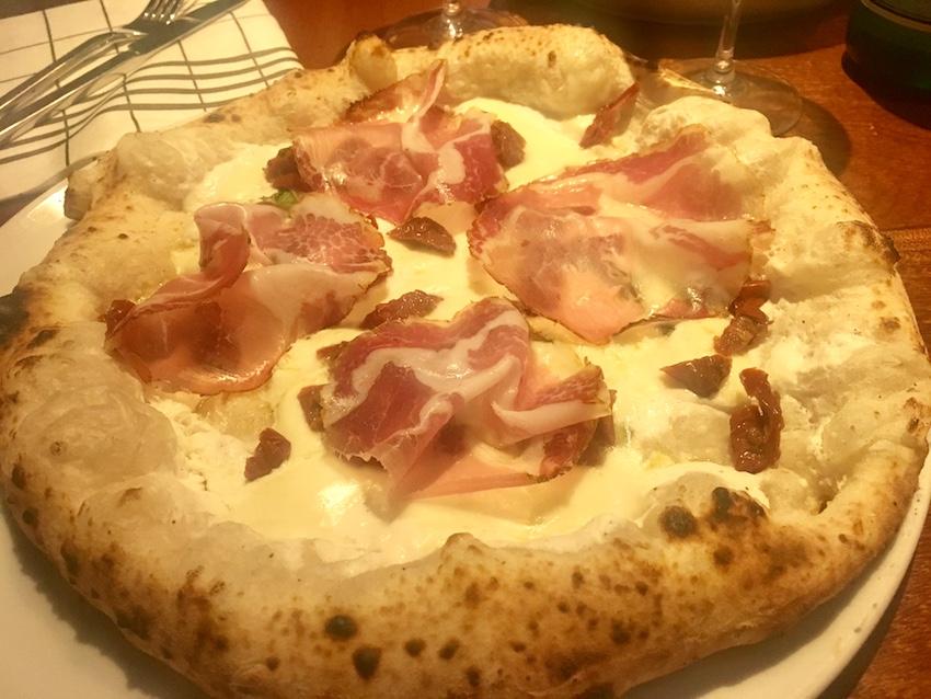 Cocciuto - pizza Capocollo