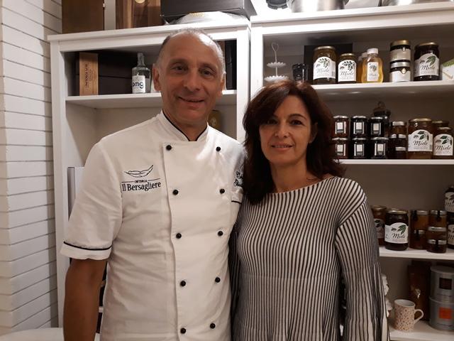 Giustino Pezzetta e Paola Lanzi