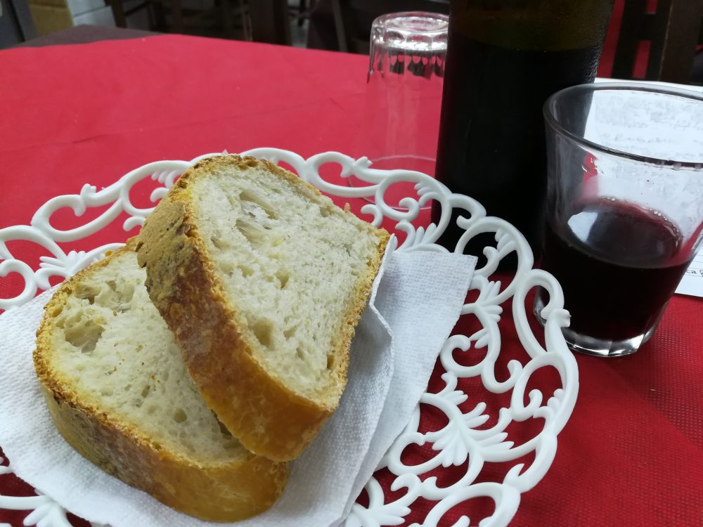 La Tavernetta Vittozzi - Il Pane