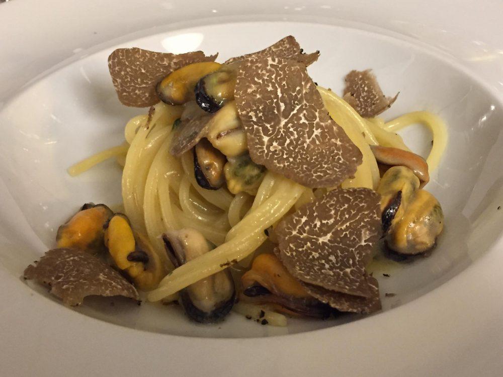 Il Veliero - Spaghetti cozze e tartufo