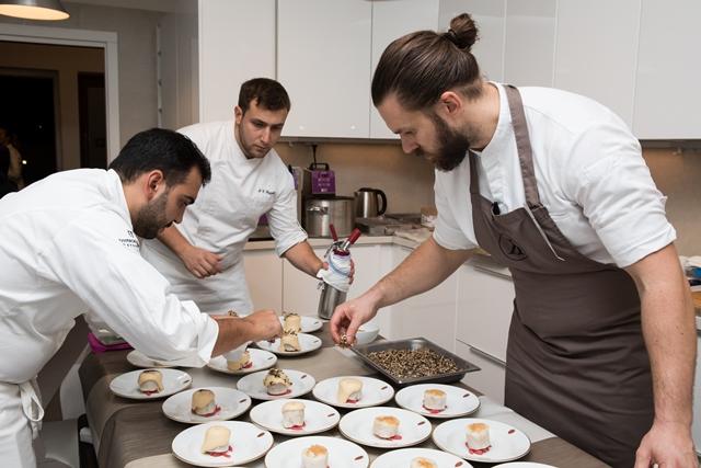 In cucina con gli chef