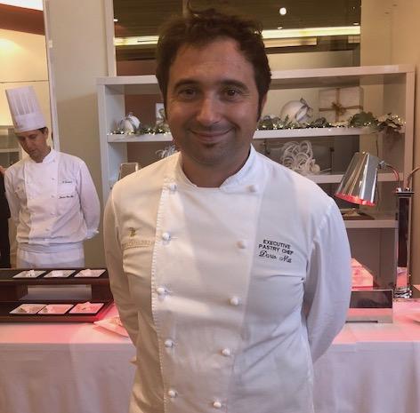Lo chef pasticcere Dario Nuti