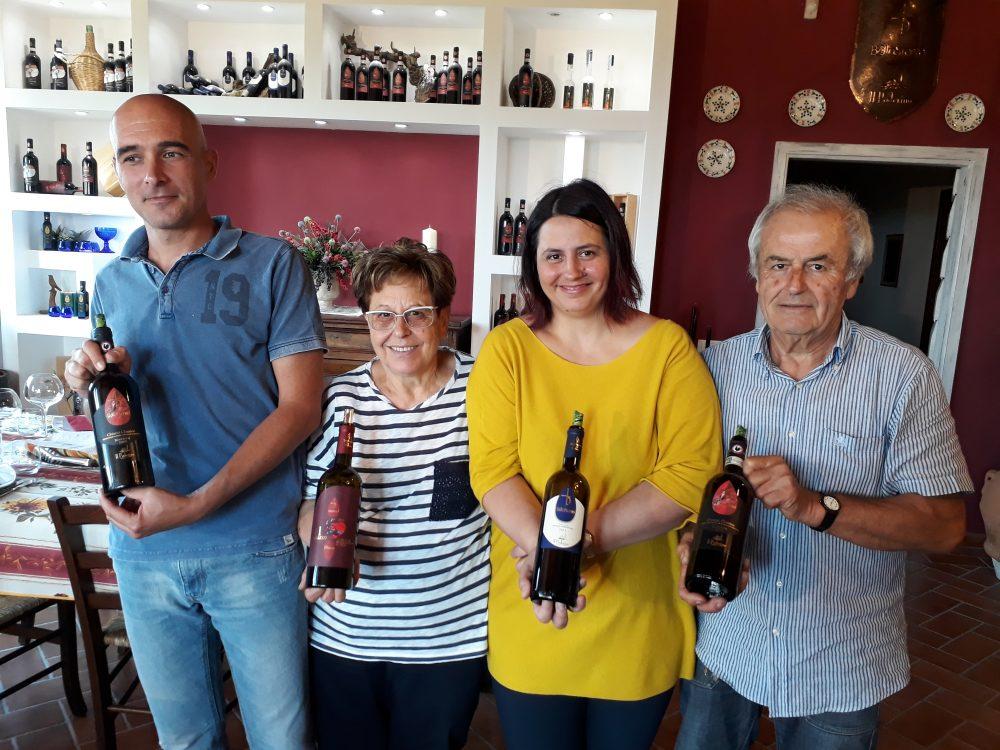 Mazzorana, Elena e la sua famiglia