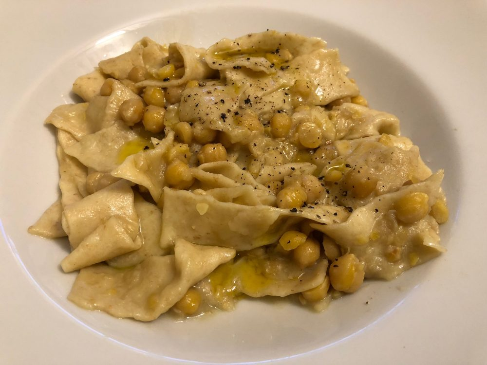 Osteria Diabasis, lagane&ceci