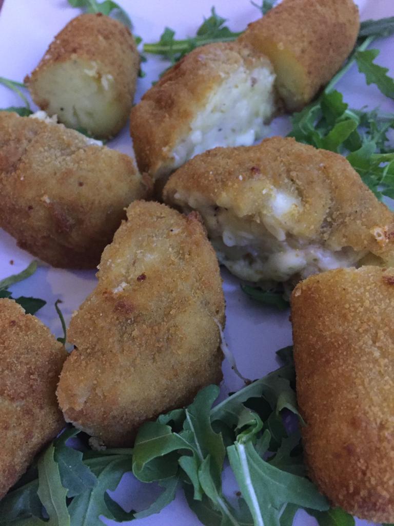 Pizzeria da Nino Pannella - Crocche' e frittatina di pasta