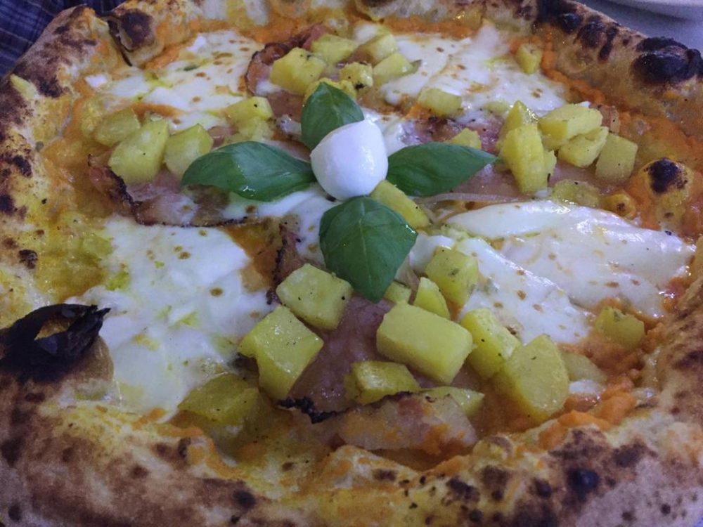Pizzeria da Nino Pannella - Pizza Zucca e Guanciale