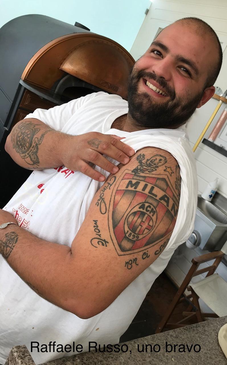 Raffaele Russo, uno, bravo, l'unica pecca e' targata Milan