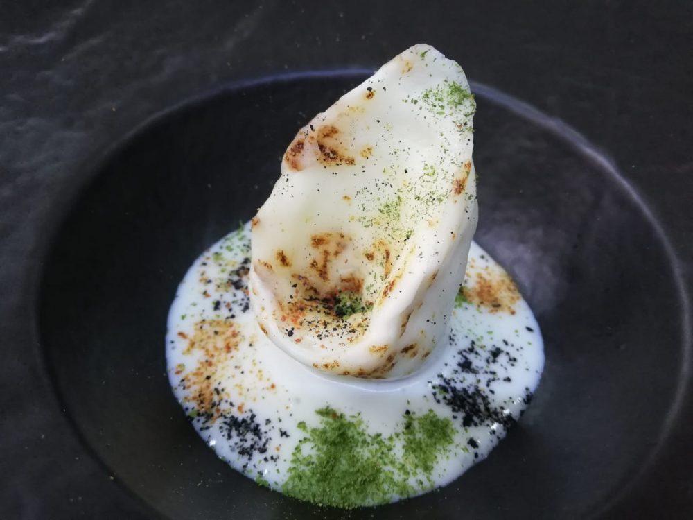Ristorante Le Colonne Marziale - Raviolo di Mozzarella Bruciata