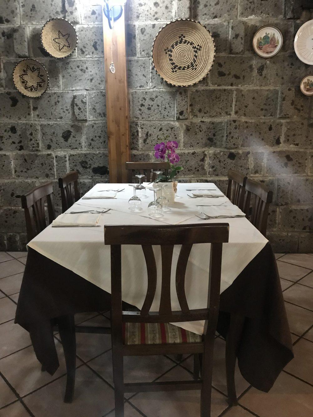 Ristorante Pizzeria Bronzetti - Sala