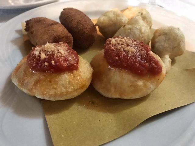 Ristorante Pizzeria Bronzetti - crocche' e pasta cresciuta