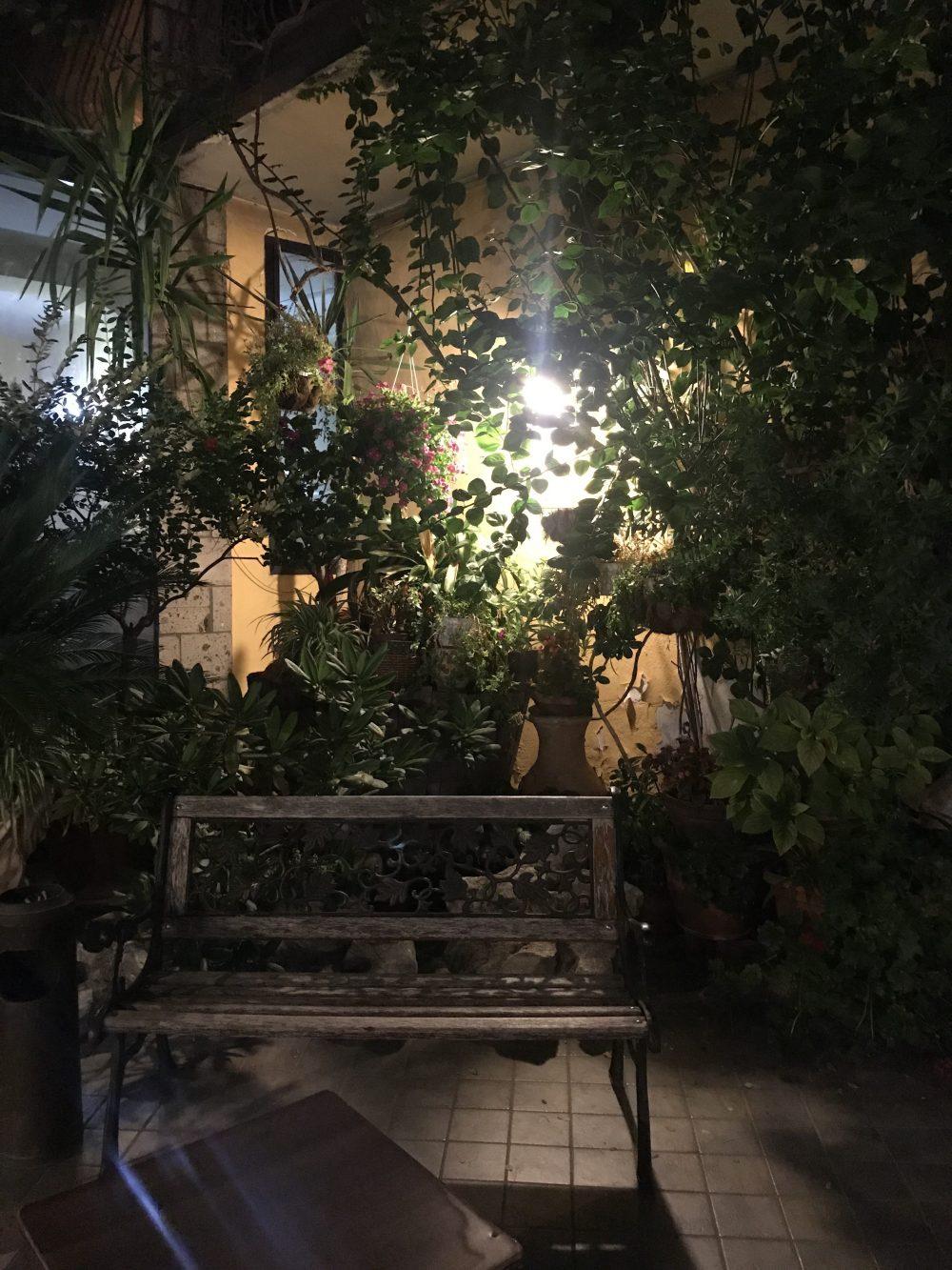 Ristorante Pizzeria Bronzetti- giardino