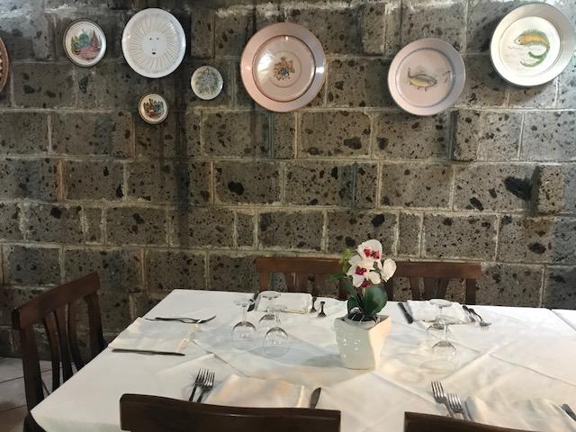 Ristorante Pizzeria Bronzetti - particolare della sala