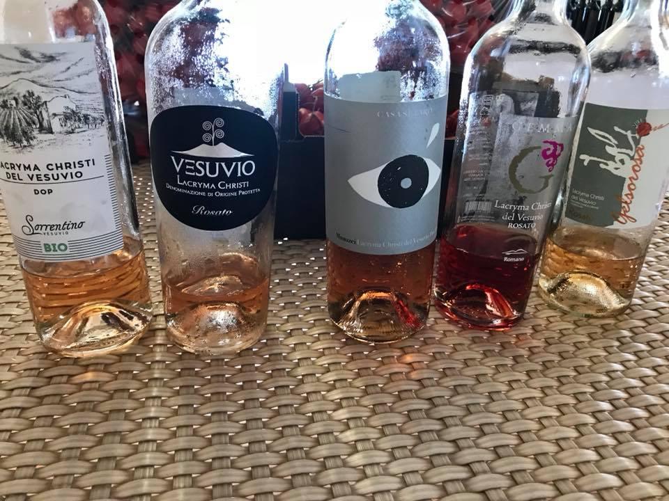 Vini rosati Vesuvio