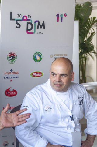 Lo chef Alfonso Caputo