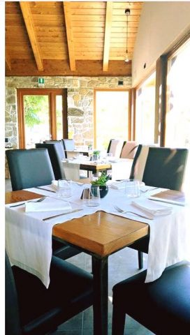 il ristorante del Club Morera