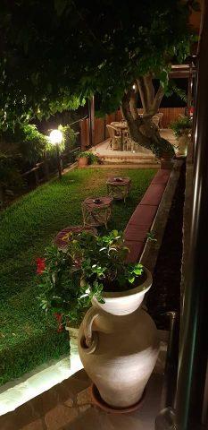 il giardino del Club Morera