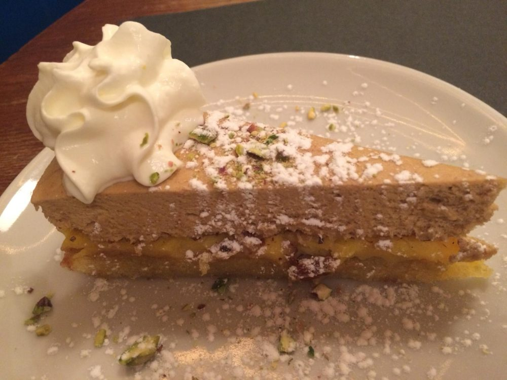 Pan di Via - torta al pistacchio