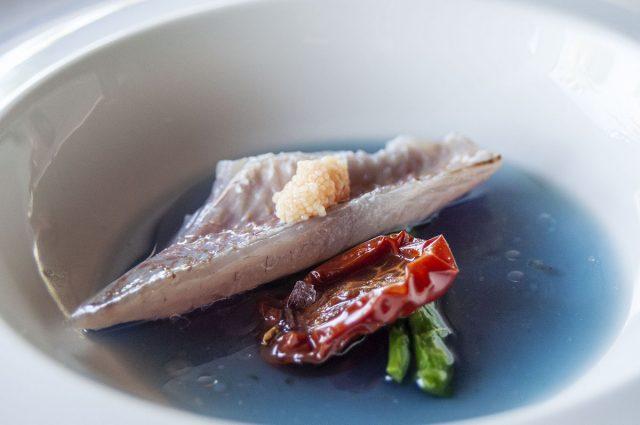 La Triglia del Golfo dello chef Alfonso Caputo