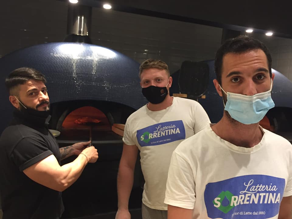Pignalosa Pizzeria Salerno, la squadra