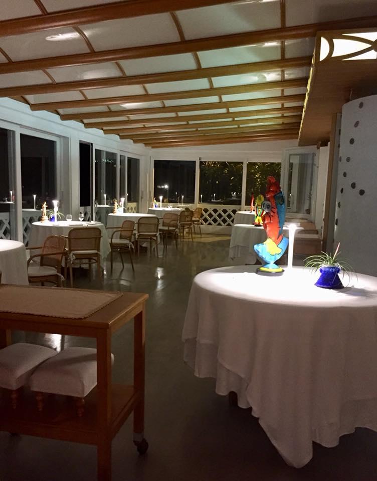 Taverna del Capitano, la sala