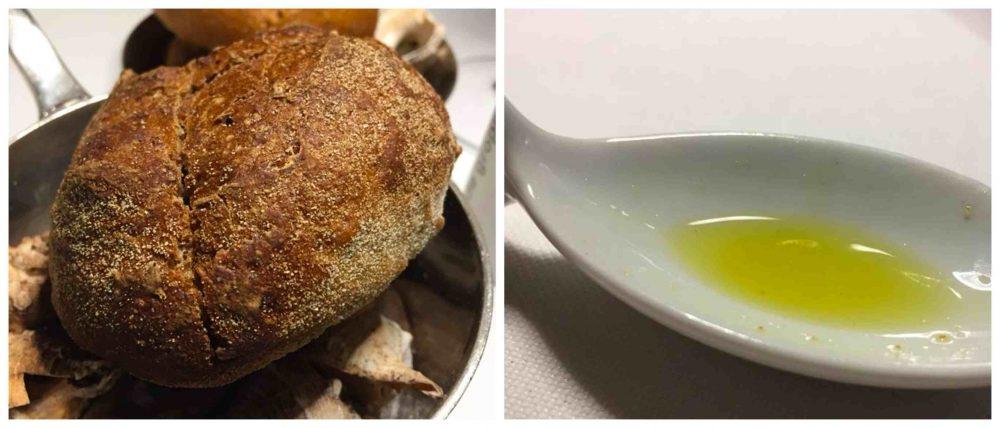 Taverna del Capitano, pane e olio