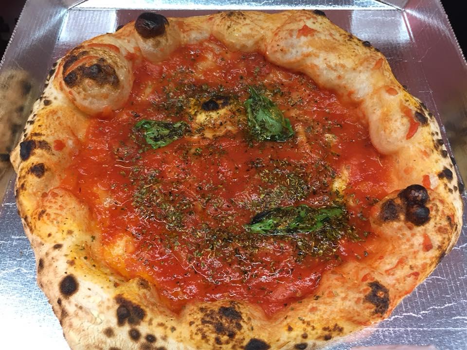 Pizzeria Dalmata, la marinara