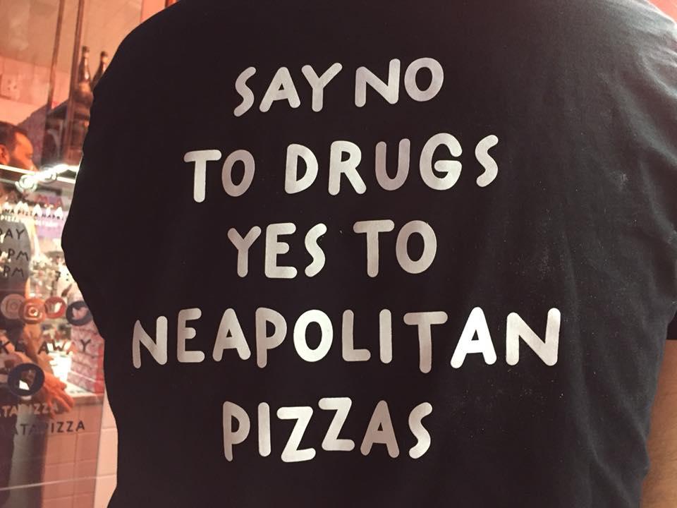 Pizzeria Dalmata, una delle magliette