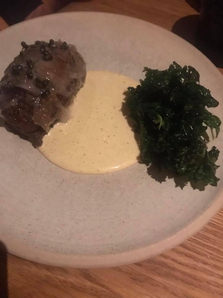 Restaurant Barr - Polpette alla danese con carne di maiale e tartufi