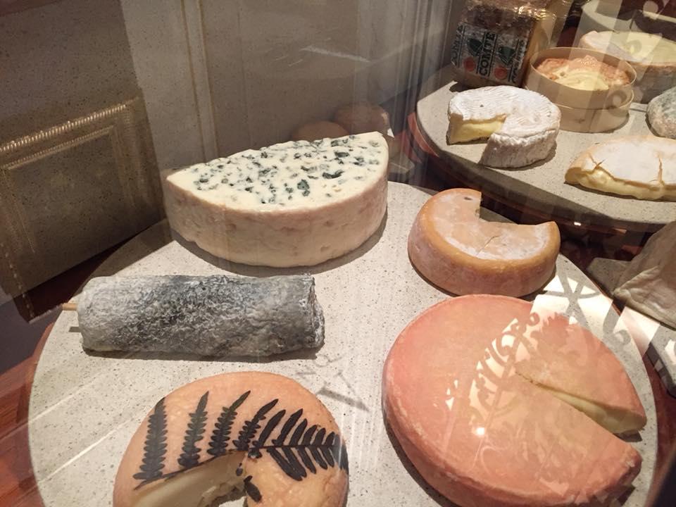 Le Cinq, carrello dei formaggi
