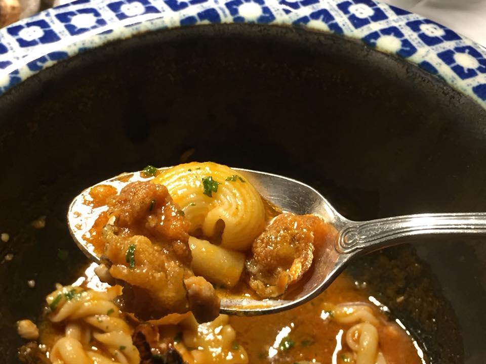 Taverna del Capitano, la zuppa di murena