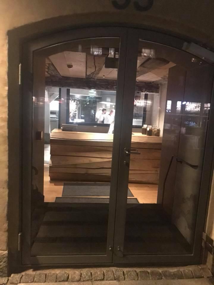 Restaurant Barr a Copenhagen, ingresso