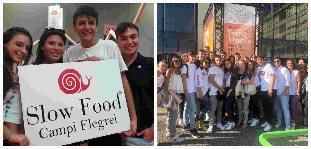 4 B con Slow Food Campi Flegrei a Torino