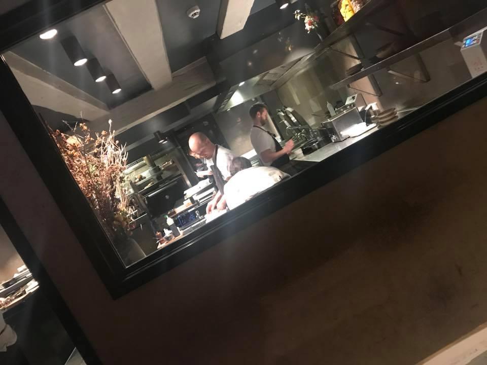 Restaurant Barr a Copenhagen, la cucina