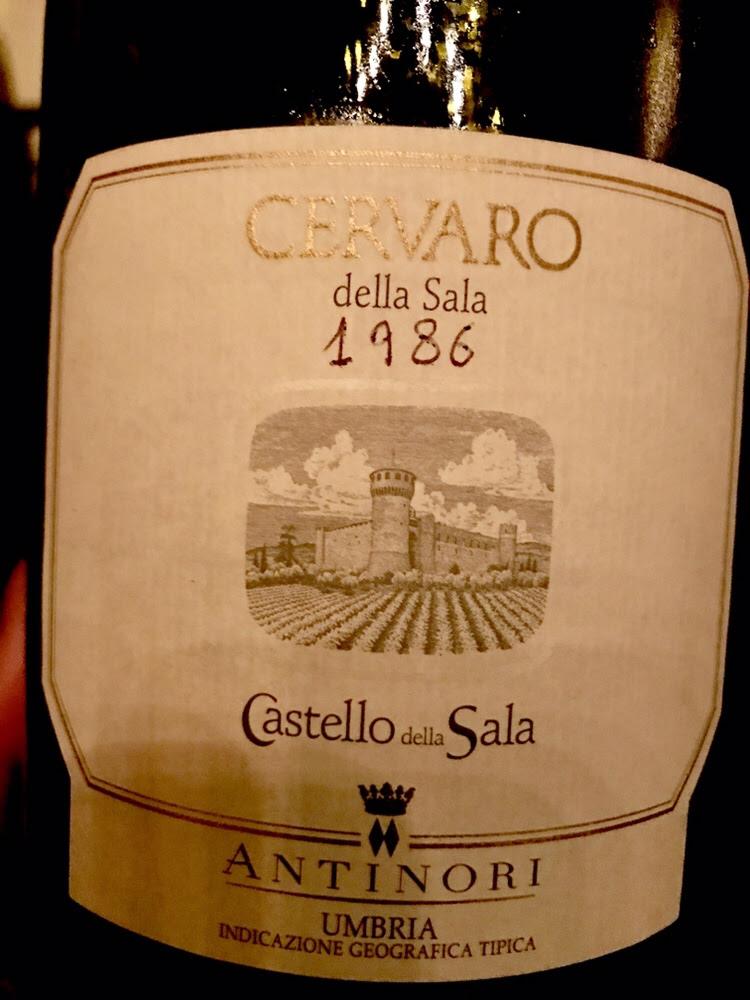 Cervaro Della Sala 1986