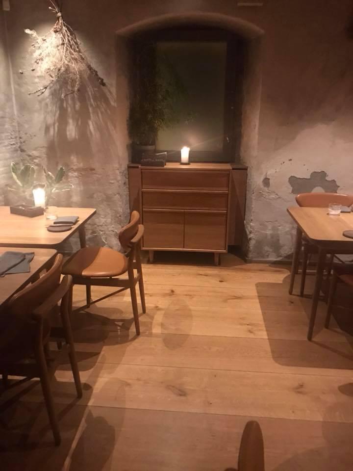 Restaurant Barr a Copenhagen, un angolo