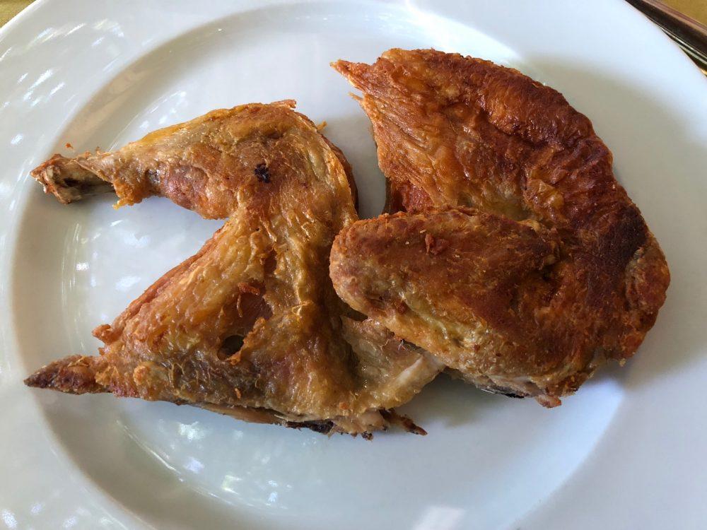 Antica Trattoria del Gallo, pollo alla diavola