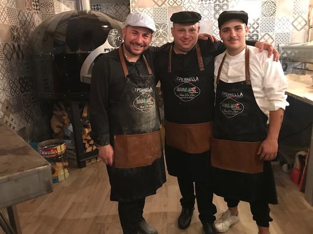 Basilico di buona pizza - Di Leva - padre e figlio - e Antonio Basilico