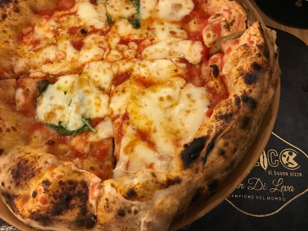 Basilico di buona pizza - la margherita