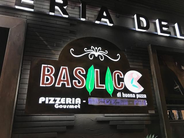 Basilico di buona pizza - esterno locale