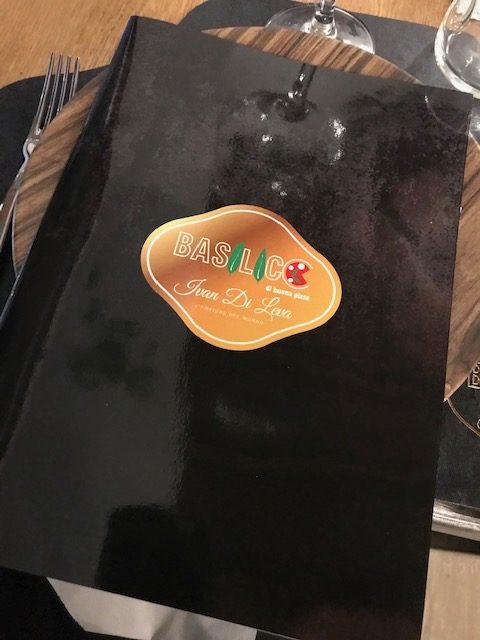 Basilico di buona pizza - menu'