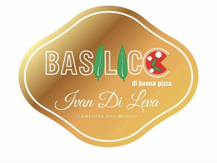 Basilico di nuova pizza - logo