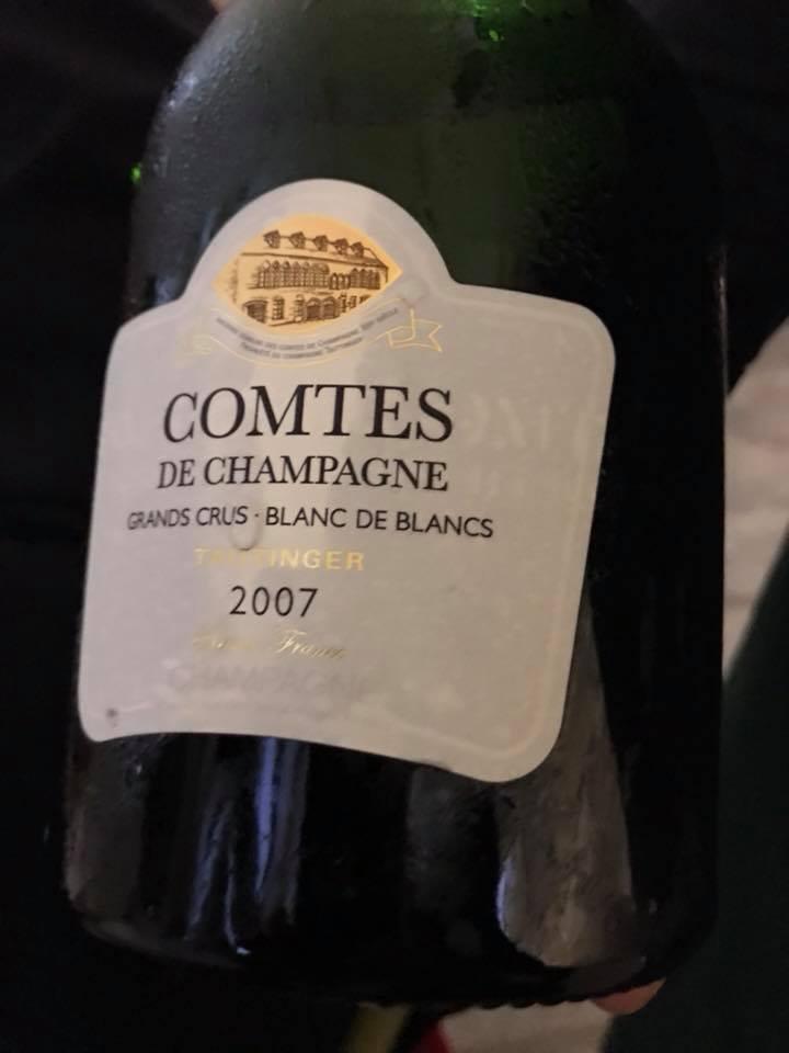 Champagne Taittinger Comtes de Champagne Gran Crus 2007