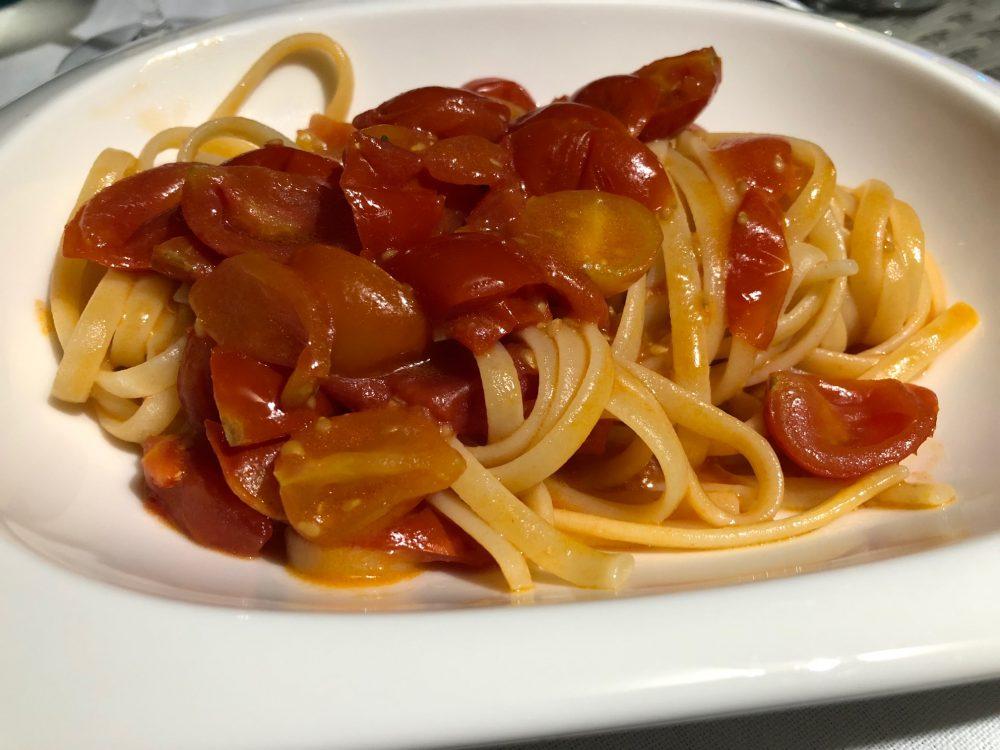 Chef Alessandro Feo, linguine al pomodoro