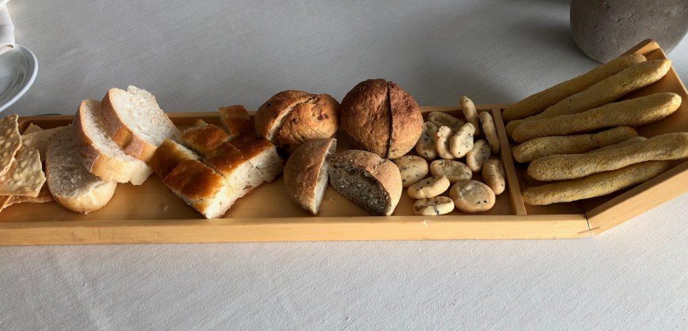 Collina, pane in cassetta, ma ci sono anche focacce, sfoglie, grissini, crostini...